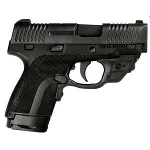 "Honor Guard Sub-Compact Semi Auto Pistol 9mm Luger 3.2"" Barrel 7 Rounds Black with Crimson Trace Laserguard"
