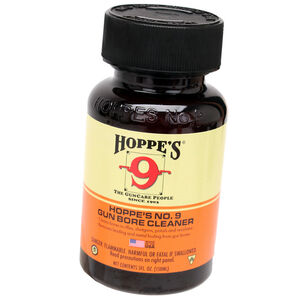 Hoppe's No. 9 Gun Bore Solvent Cleaner 4oz Bottle 10 Pack