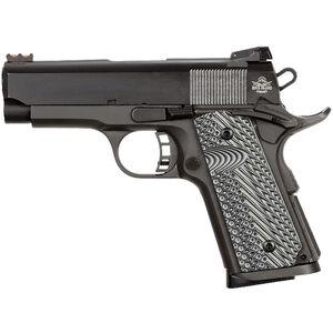 "Rock Island Armory ROCK Ultra CS-L .45 ACP 1911 Semi Auto Handgun 3.5"" Barrel 7 Rounds Aluminum Frame G10 Grips Black"