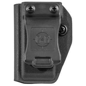 C&G Holsters Universal IWB/OWB Magazine Pouch for Metal 9/40 Double Stacked Magazines Kydex Black
