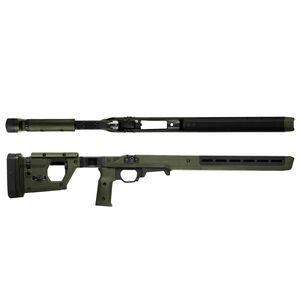 Magpul Pro Fixed Stock for Remington 700 Short Action Calibers M-LOK Modular Attachment Slots Full Billet Aluminum Skeleton Ambidextrous Olive Drab Green Finish