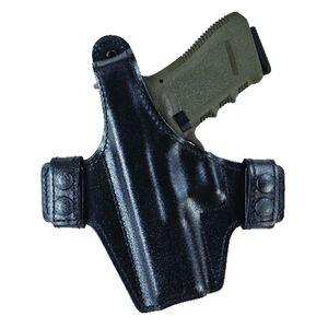 Bianchi Model 130 Classified Belt/IWB Holster Left Hand Fits GLOCK 26/27 Leather Black