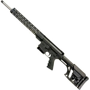"Windham Weaponry Semi Auto Rifle 6.5 Creedmoor 5 Rounds 20"" Barrel Free Float Rail Luth-AR Stock Black"