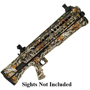 "UTAS-USA Hunting Pump Action Shotgun 12 Gauge 18.5"" Barrel 3"" Chamber 14 Rounds Polymer Frame Next G1 Camo Finish No Sights PS1HC1"