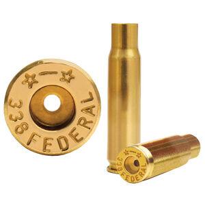 Starline .338 Federal Unprimed Brass Cases 50 Count 338FEDEUP-50