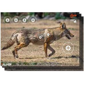"Allen Company EZ Aim Non-Adhesive Splash Coyote Target 13""x24"" 3 Pack"