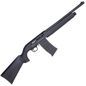 "Black Aces Tactical Pro M Series 12 Gauge Semi Automatic Shotgun 18.5"" Barrel 3"" Chamber 5 Rounds Detachable Box Magazine Synthetic Stock/Forend Matte Black"