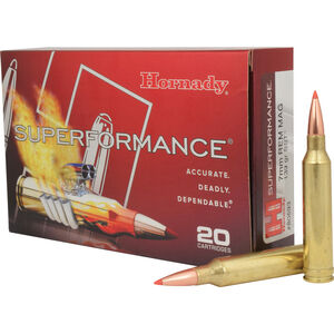 Hornady 7mm Remington Magnum Ammunition 20 Rounds SST 139 Grains