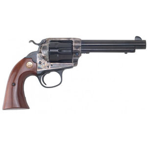 "Cimarron Bisley Model Revolver 357 Mag 5.5"" Barrel 6 Rounds Color Case Hardened Frame Walnut Grip Blued"