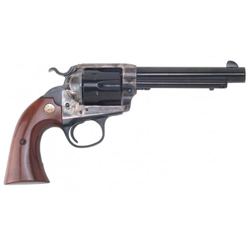 """Cimarron Bisley Model Revolver 357 Mag 5.5"""" Barrel 6 Rounds Color Case Hardened Frame Walnut Grip Blued"""
