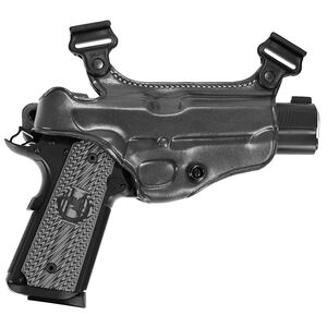 Galco S38 Shoulder Holster Component Fits SIG P320 9/40 Right Hand Leather Black