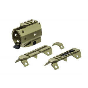 Strike Industies GRIDLOK-Front & Rear Sights FDE SI-GRIDLOK-SIGHTS-FDE