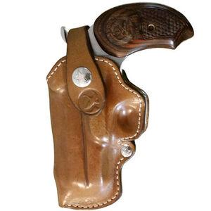 Bond Arms Belt Loop Holster Left Hand Snakeslayer IV Leather Tan Finish BMTSSIVLHBL