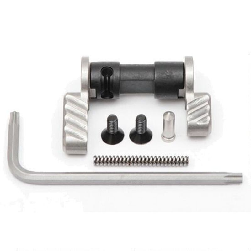 Battle Arms Development AR-15 Ambidextrous Safety Selector Stainless Steel