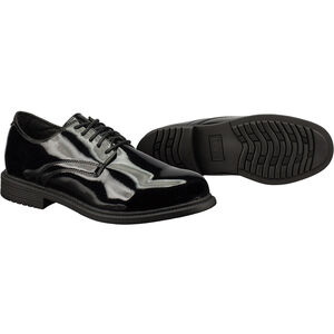 Original S.W.A.T. Dress Oxford Men's Shoe Size 9.5 Wide Clarino Synthetic Upper Black 118001W-95
