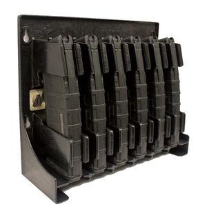 Mag Storage Solutions AR-15 Magazine Holder Impact Grade ABS Plastic Matte Black Finish