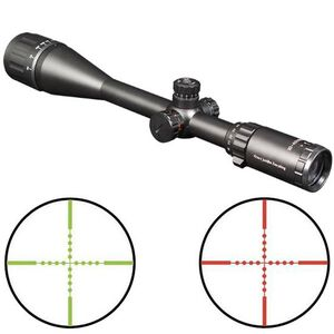"Firefield Tactical 10-40x50mm Riflescope Illuminated Mil-Dot Reticle 1"" Tube 1/4 MOA Tactical Turrets Second Focal Plane Matte Black Finish 13046"