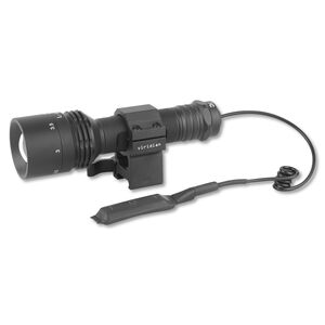 Viridian V200 Manual Zoom Light Red LED 300 Yard Range With 3 Mounts And Pressure Switch