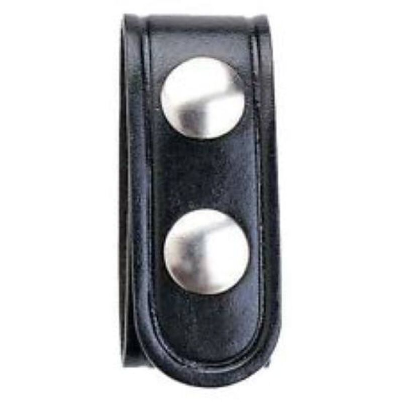 Aker Leather 530 Belt Keeper Leather 1 Inch Black