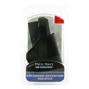 Uncle Mike's Standard Retention Holster Size 23 Right Hand Black