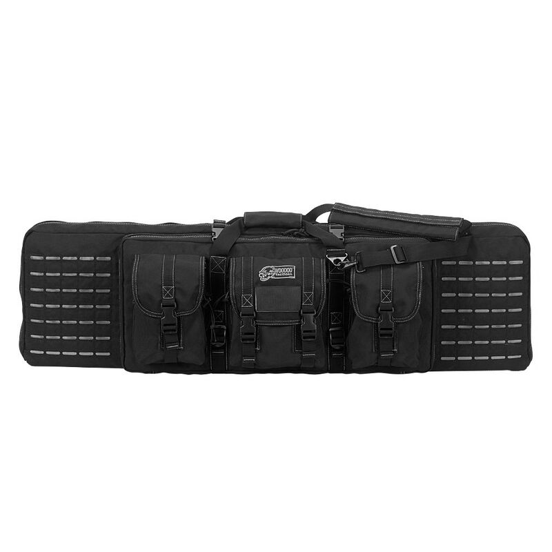 """Voodoo Tactical 42"""" Padded Weapons Case Nylon Black/Gray"""