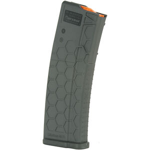 Hexmag Series 2 AR-15 30 Round Magazine/30 Round Body .223 Rem/5.56 NATO/.300 AAC Blackout PolyHex2 Advanced Composite Polymer Dark Gray