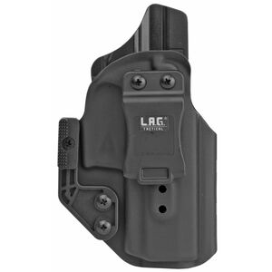 "LAG Tactical Appendix MK II Series IWB Holster for S&W M&P 2.0 3.6"" Barrel Models Right Hand Draw Kydex Construction Matte Black Finish"