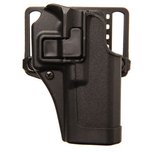 BLACKHAWK! SERPA CQC Belt/Paddle Holster Beretta 92/96/M9 Right Hand Polymer Black 410504BK-R