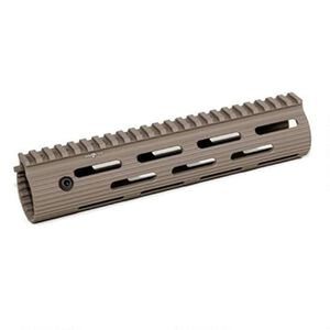 "Troy Industries VTAC Alpha Rail AR-15 Free Float Modular Handguard 9"" Aluminum Dark Earth STRX-AVK-90FT-01"