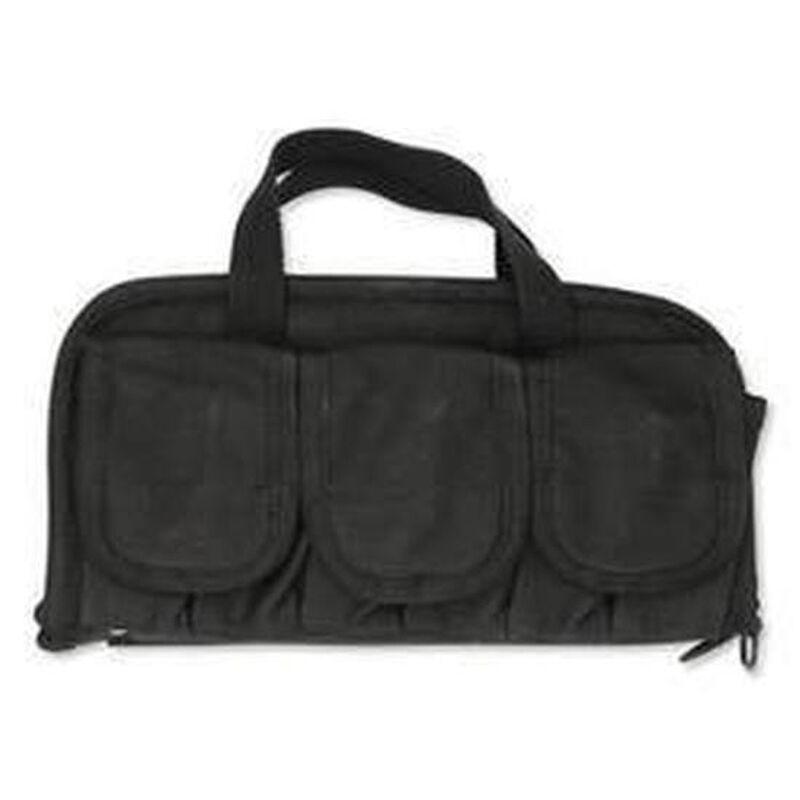 """Boyt Harness Company Double Pistol Case 13""""x7"""" Canvas Black 0PP911DG3"""