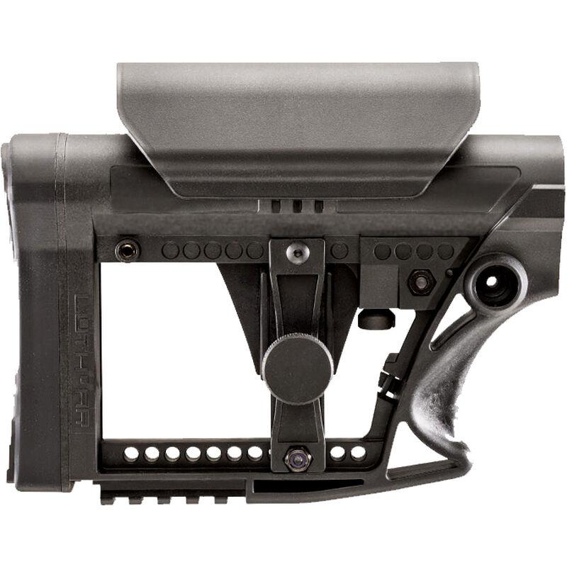 Luth-AR MBA-4 AR-15 Carbine Buttstock With Cheek Riser Polymer Black MBA-4-CHP