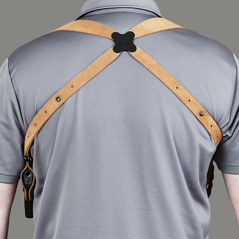 Galco Classic Lite Shoulder Holster System Walther PP/PPK/PPKS Right Hand  Draw Leather Natural Finish