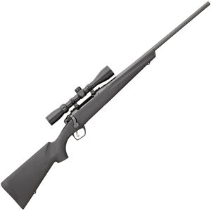 """Remington 783 Bolt Action Rifle .270 Win 22"""" Barrel 4 Rounds with 3-9x40mm Scope Free Float Synthetic Stock Black Matte Blue Finish 85844"""