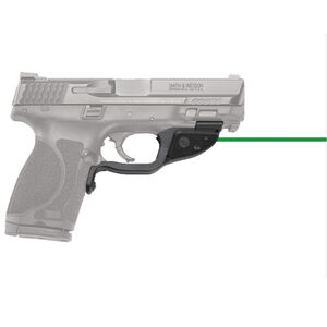 Crimson Trace LG-362G Green LaserGuard For S&W M&P 2.0 Full Size/Compact Models Front Activation Polymer Housing Matte Black