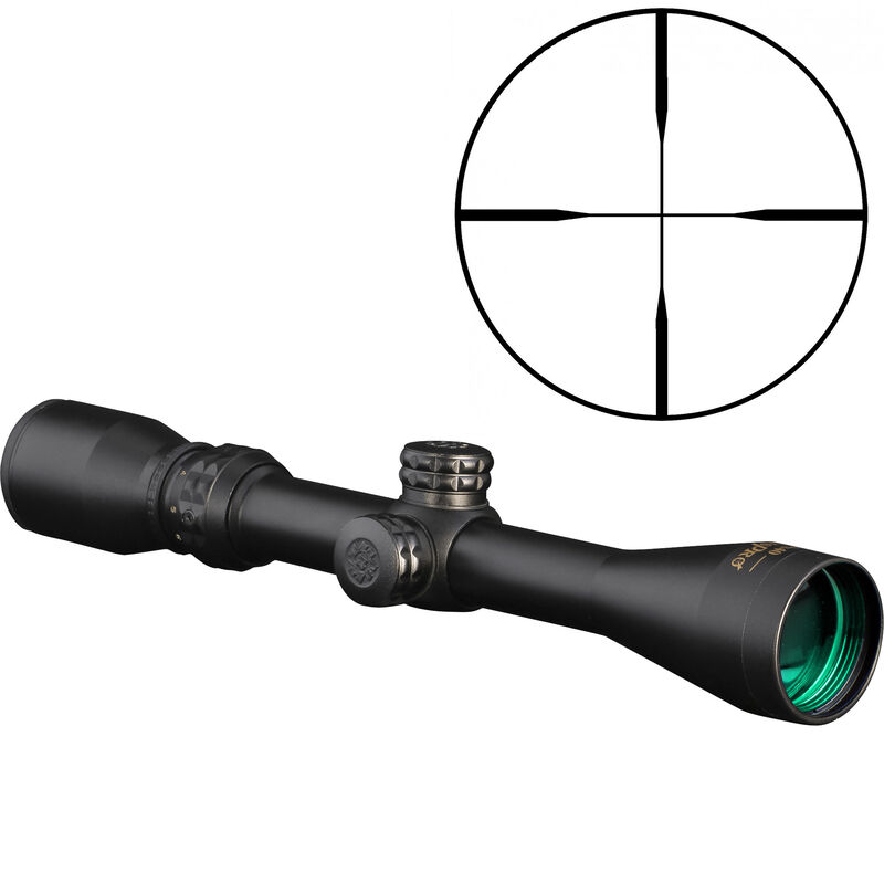 KONUSPRO 3-9x40mm Riflescope With 30/30 Engraved Reticle