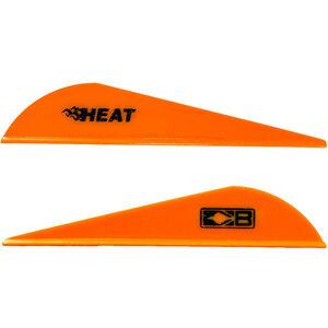 Bohning Blazer Heat Hunting Vanes 6 Grains Synthetic Neon Orange 36 Pack