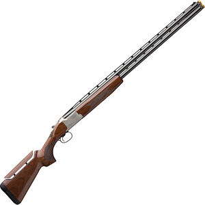 """Browning Citori CX White Adjustable 12 Gauge O/U Break Action Shotgun 32"""" Vent Rib Barrels 3"""" Chamber 2 Rounds Walnut Stock with Adjustable Comb Silver Receiver with Blued Barrel Finish"""
