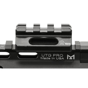 "Leapers UTG Super Slim Picatinny Riser Mount 3 Slots 0.5"" High Aluminum Black MT-RSX5S"