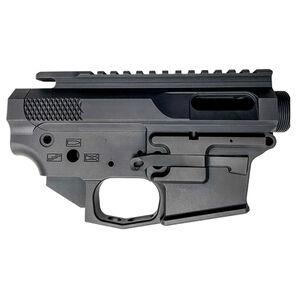 Jacob Grey Custom AR-9 Billet Receiver Set 9mm Luger GLOCK Magazine Compatible Hard Coat Anodized Finish Matte Black