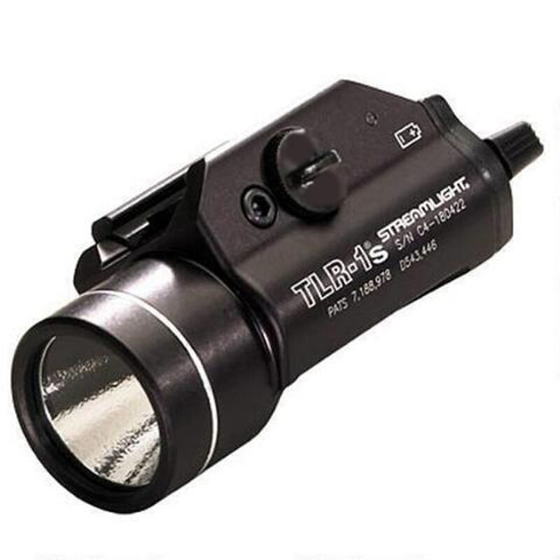 Streamlight TLR-1s LED Weapon Light Earless Model 300 Lumen Strobe Black