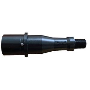 "Stern Defense 9mm Luger AR-15 4"" Barrel Threaded 1/2x36 Melonited Finish Matte Black"