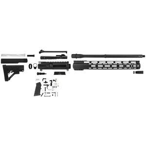 "TacFire AR-15 Complete Rifle Build Kit 9mm Luger 16"" Barrel AR-15 Lower Parts Kit Matte Black Finish"
