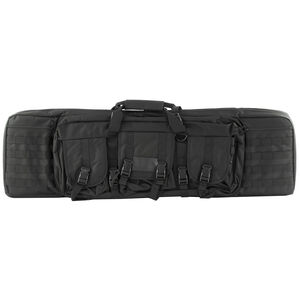 """NcSTAR Double Carbine Case 42"""" Padded Synthetic Fabric Black"""