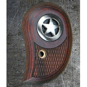 Bond Arms Factory Replacement Derringer Standard Silver Star Laminated Wood Rosewood Grip