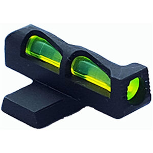 HiViz LITEWAVE SIG Sauer P Series Sight Height #6 Fiber Optic Front Sight Red/Green/White Steel Black SGLW06