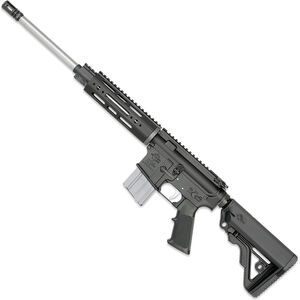 "Rock River LAR-15 NM A4 CMP 5.56 NATO AR-15 Semi Auto Rifle 16"" Heavy Barrel .223 Wylde Chamber 20 Rounds 7.25"" Free Float Handguard Collapsible Stock Black Finish"