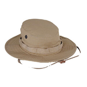 Voodoo Tactical Boonie Hat Cotton Ripstop Size 7.50 Khaki 20-645183075