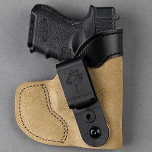DeSantis Pocket-Tuk IWB/Pocket Holster For GLOCK/Walther/Ruger/SIG Right Hand Leather Natural 111NAB2Z0