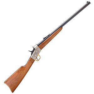 "Pedersoli Mississippi Rolling Block .38-55 Win 26"" Barrel Walnut Stock Blued Barrel Nickel Receiver"