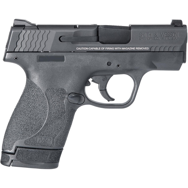 "S&W M&P9 Shield M2.0 9mm Luger Semi-Auto Pistol 3.1"" Barrel 8 Rounds Thumb Safety Black"